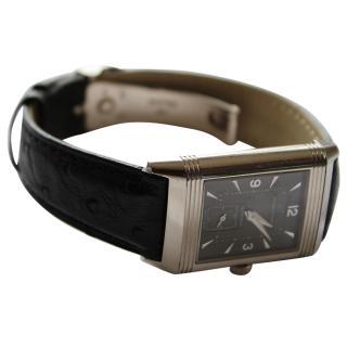 Jaeger LeCoultre Rare Vintage Reverso Watch, Duoface, Grande size