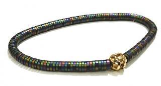 Luis Morais Pizzle Bracelet 14ct Gold Charm