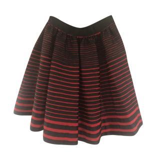 Kenzo Striped Mini skirt