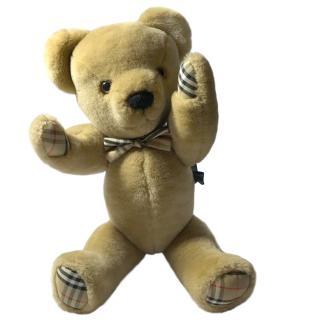 Burberry nova check vintage teddy bear