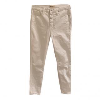 Madewell White 10 Skinny Jeans