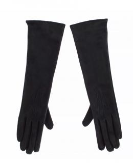 Dolce & Gabbana long leather gloves