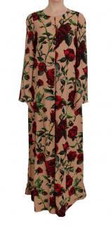 Dolce & gabbana Red Roses Maxi dress