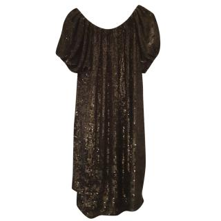 Adam Lippes sequin dress