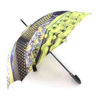 Mary Katrantzou Green Abstract Printed Umbrella
