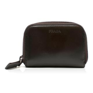 Prada Brown Leather Purse