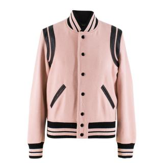 Saint Laurent Wool-blend Teddy Jacket