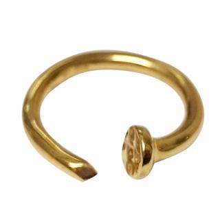 Roberto Marroni 18ct Yellow-Gold Screw Ring