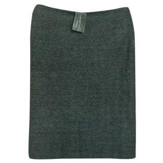 Ralph Lauren Black Label Cashmere Skirt