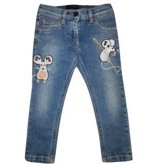 Dolce & Gabbana girls jeans