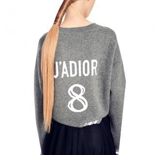Dior 'Jadior 8' grey cashmere jumper