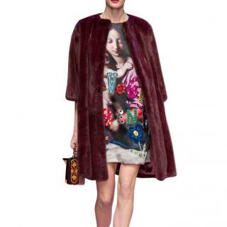 Dolce & Gabbana Catwalk 'Ti Voglio Bene' Embellished Dress