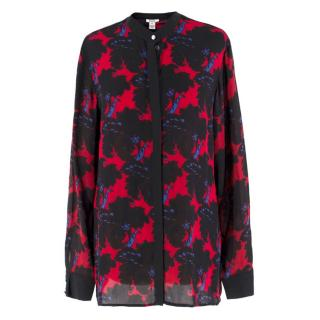 Issa London Silk Floral Blouse