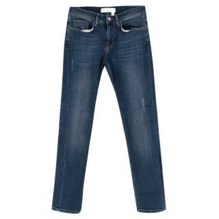 Victoria Beckham Vintage Indigo Straight Leg Jeans