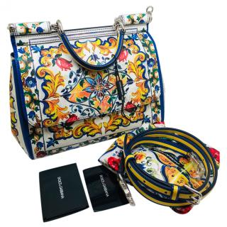 Dolce & Gabbana Majolica Medium Sicily bag