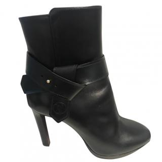 Louis Vuitton Black Ankle Boots