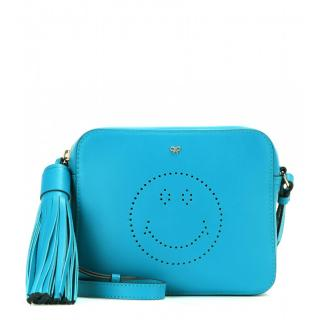 Anya Hindmarch Smiley Leather Cross-Body Bag