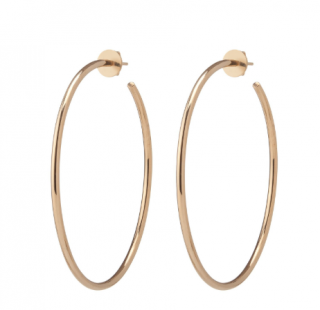 Jennifer Fisher Solid Gold Eternity Hoops