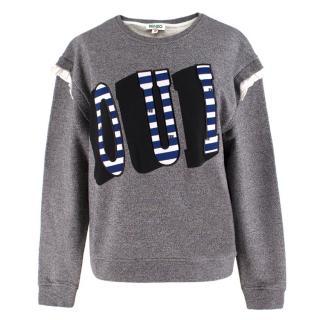 Kenzo 'Oui' Slogan Sweatshirt