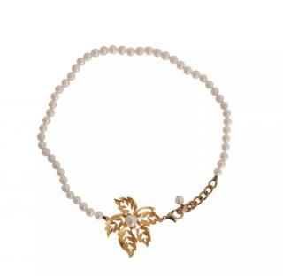 Dolce & gabbana faux-pearl necklace