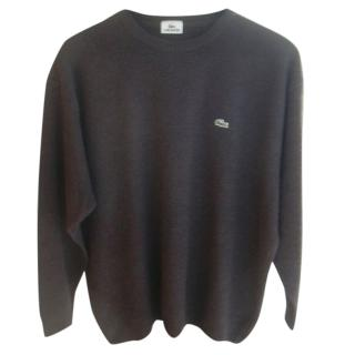 Lacoste Mocha Brown Jumper