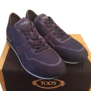 Tods Men�s Blue Trainers