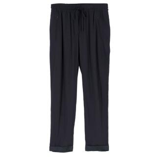 Stella McCartney Navy Tapered Track Pants