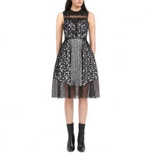 Three Floor 'Shared Interest' Dress
