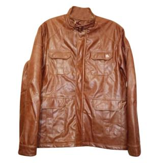 Burberry London Faux Leather Jacket