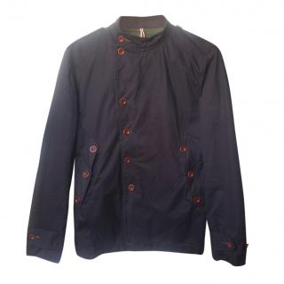 Paul Smith Asymmetric-Buttoned Cotton Jacket