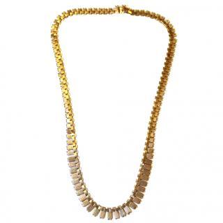 Bespoke Vintage Cleopatra Fringe Necklace