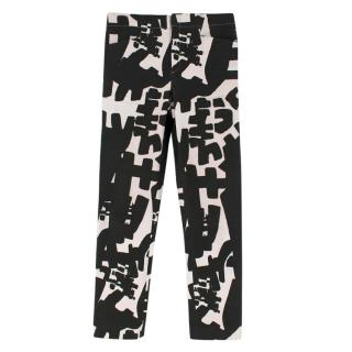 Isabel Marant Abstract Pattern Skinny Jeans
