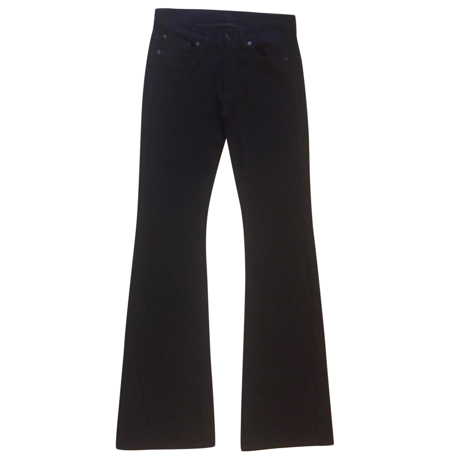 7 For All Man Kind boot-cut stretch trousers