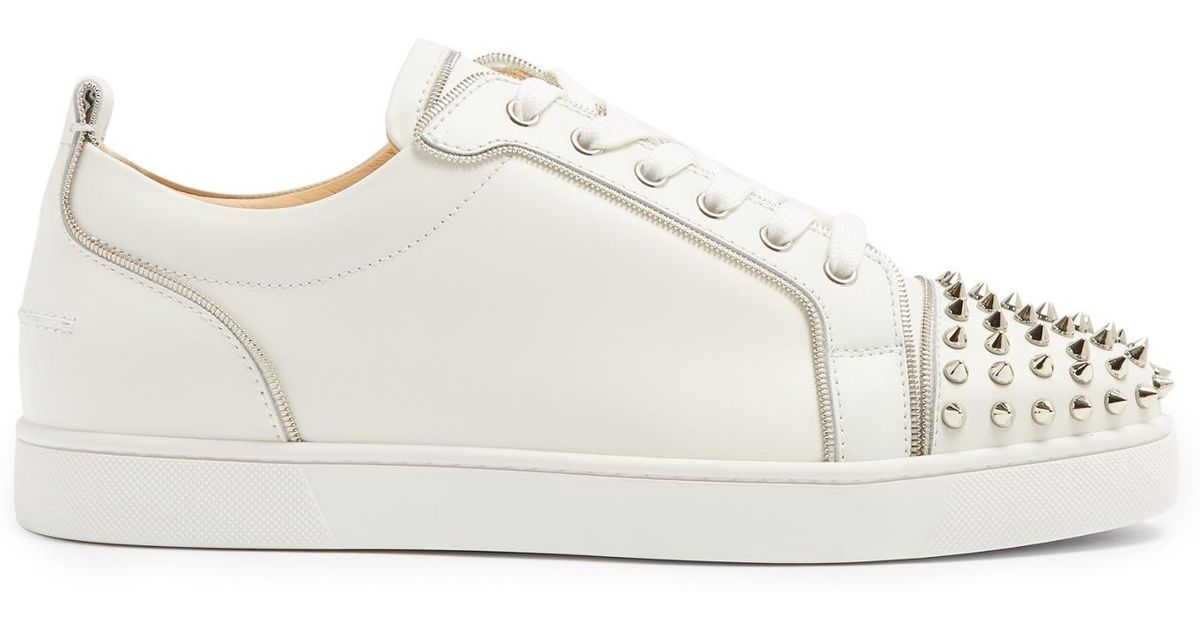 Christian Louboutin Junior Zip Spikes Low Top Trainers