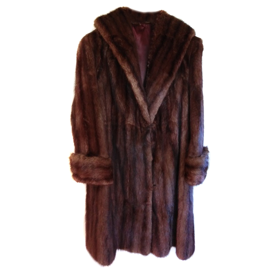Bespoke Mink Fur Coat
