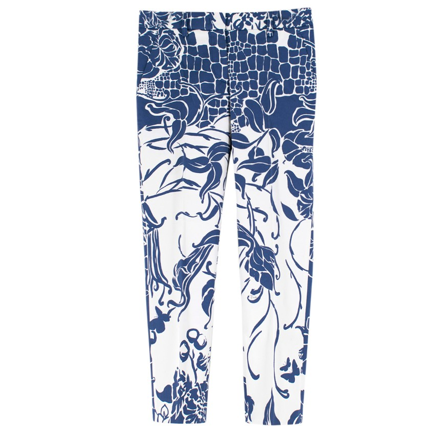 Emilio Pucci Patterned Casual Trousers