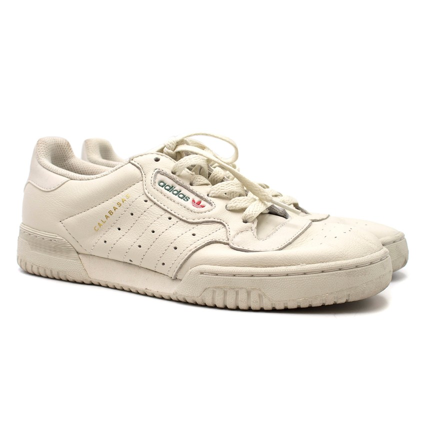 Yeezy White Trainers Calabasas Powerphase Adidas