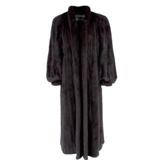 Grosvenor Canada Black Mink Fur Coat