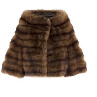 Bespoke Sable Short Shrug/Jacket