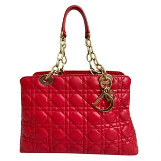 Dior Leather Shopping Tote