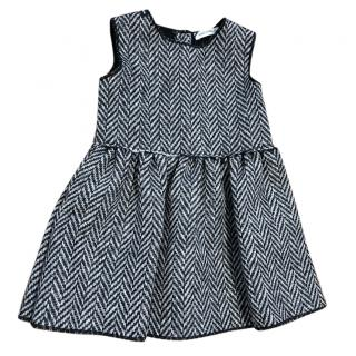 Dolce & Gabbana Herringbone Girls Baby Dress