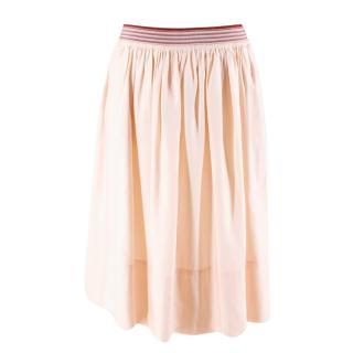 Stella McCartney Pink A Line Skirt