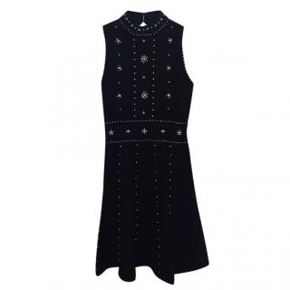 Sandro Embellished Knit Dress