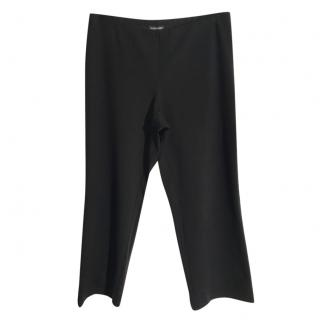 Eileen Fisher Black Stretch Trousers