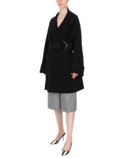 Diane Von Furstenberg Collared Belted Trench Coat