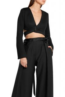 Beaufille 'Tarvos' Cropped Neoprene Wrap Top