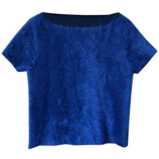 Louis Vuitton wool & cashmere Textured Top