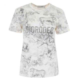 Dior Cruise '19 Diorodeo Printed Top