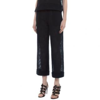 Roland Mouret Navy Rew Trousers