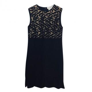 Stella McCartney Black Sleeveless Dress.